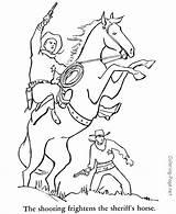 Coloring Cowboy Printable Oeste Velho Desenho Colorir Horse Habitantes Dibujos Cowboys Ausmalbilder Malvorlagen Colorear Coloriage Personnages Horses Pferde Dessin Caballos sketch template
