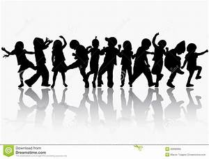 The gallery for --> Children Dancing Silhouette