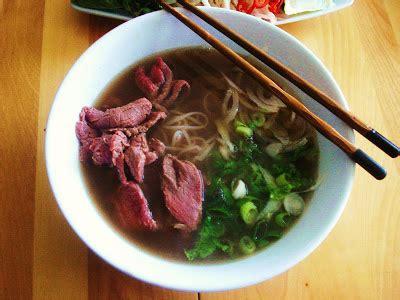 cuisine vietnamienne pho presque végé pho bo soupe au boeuf saignant