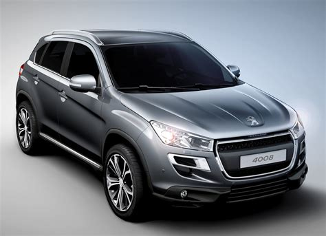 Peugeot Crossover by 2012 Peugeot 4008 Crossover Revealed To Debut In Geneva