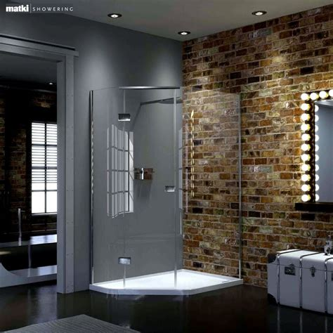 Integrated Shower Units by Matki New Illusion Quintesse Shower Enclosure With