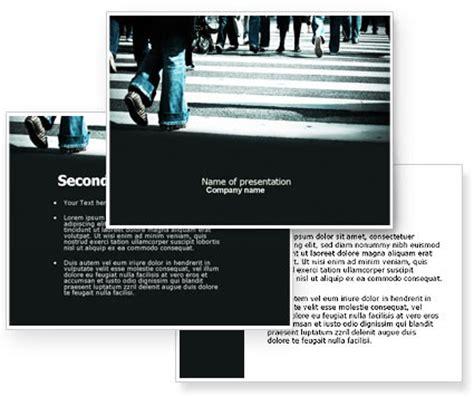 social psychology powerpoint template poweredtemplate