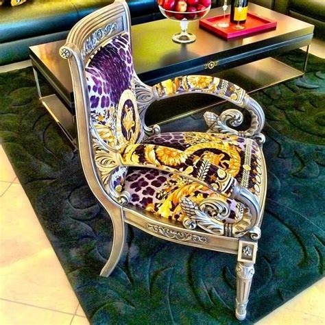 versace home australia vanitas maxi arm chair