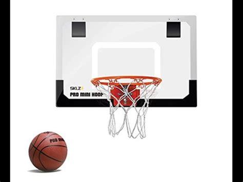 mini basketball hoop miniature system backboard wall door