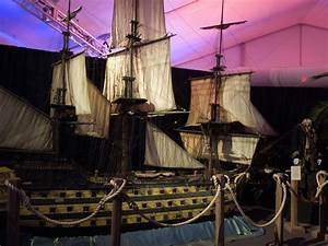 HMS Endeavour filming model from Pirates of the Caribbean ...