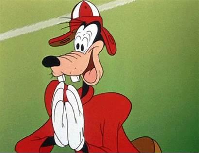 Clapping Football Goofy Disney Gifs 1944 Play