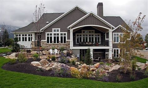 Walk Out Basements by 18 Spectacular Homes With Walkout Basements House Plans