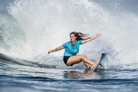 surf prodigy caroline marks making waves  youngest