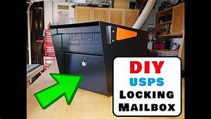 How To Install A Locking Mailbox Us Postal Service