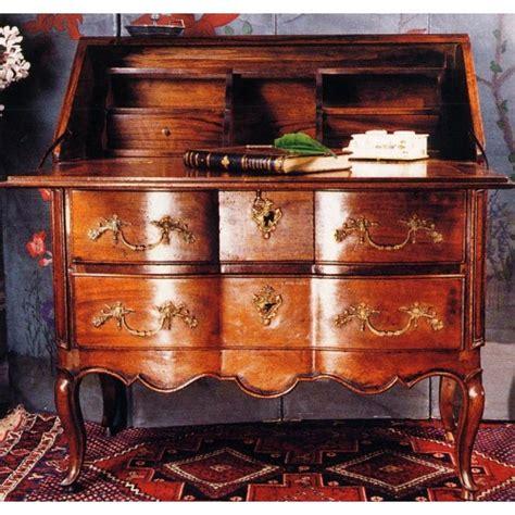 bureau dos d ane bureau dos d 39 âne louis xv noyer meubles de normandie