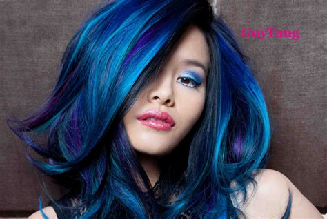 Turquoise Blue Purple Ombre Hair Youtube