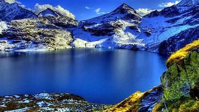 Scenery Mountain Lake Alps Landscape 10wallpaper Nature