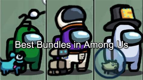 Best Among Us Bundle 🥇| Which Bundle Should You Play With?