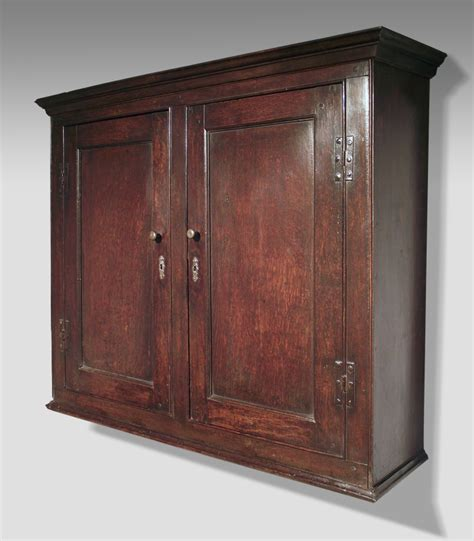 Hanging Wall Cupboards by Antique Oak Spice Cupboard Antique Oak Wall Cupboard