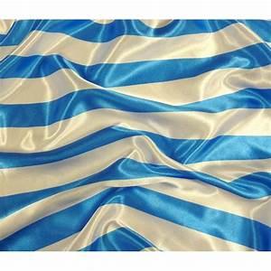 Blanc Bleu Automobiles : tissu satin carnaval rayures blanc bleu largeur 150cm x 50cm ~ Gottalentnigeria.com Avis de Voitures