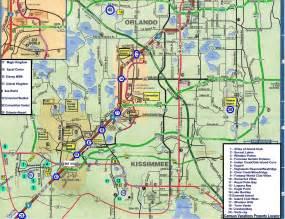 Orlando Florida Area Map