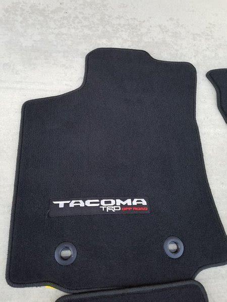 floor mats tacoma trd sport floor mats tacoma world