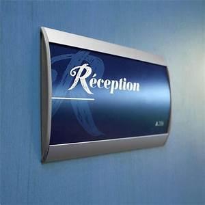 Plaques De Portes : plaque de porte gamme lunaire mod le galb direct ~ Melissatoandfro.com Idées de Décoration
