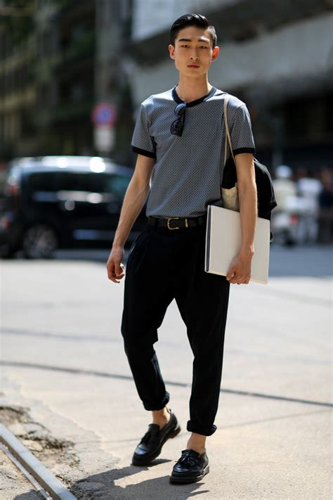 mens casual street style the wow style