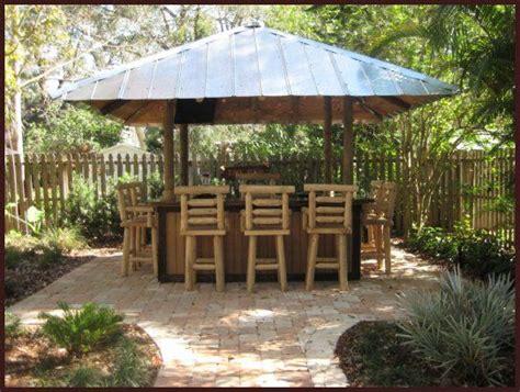 tiki hut bar tin roof tiki hut backyard bar backyard
