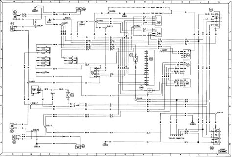 1989 Ford F800 Wiring by Diagram 2a Exterior Lighting Signal Warning Ls