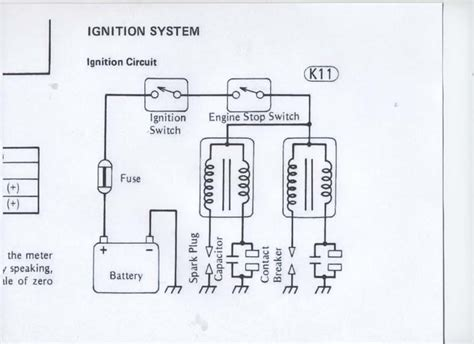 Kawasaki Ignition Coil Wiring Diagram by I Need A Wiring Diagram For The Coil Ignition On A 1981