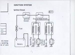 I Need A Wiring Diagram For The Coil Ignition On A 1981 Kawasaki Csr 305 I Cant Get Any Spark