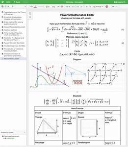 Big List - Wysiwyg Latex Editor For Maths - Tex