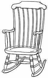 Chair Rocking Drawing Outline Clipart Drawings Chairs Line Clip Adirondack Library Wooden Cliparts Pages Colouring Collaboration Plans Psf Grandchildren Quotes sketch template