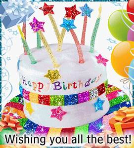 Wishing You All The Best Free Birthday Wishes Ecards