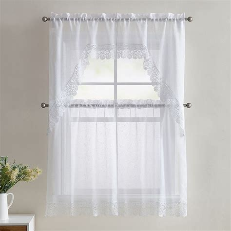 25 best ideas about white lace curtains on