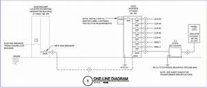 One Line Eletric Diagram