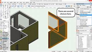 Vectorworks Tip 313  U2013 Textures On The Overall Wall Or On