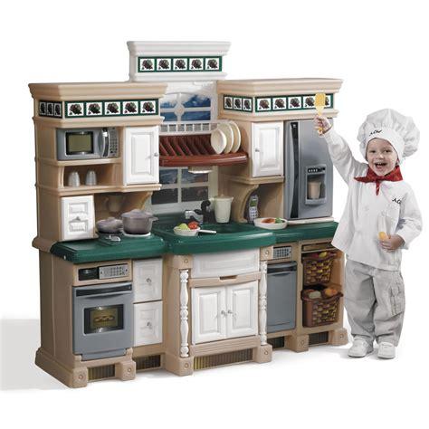 parts  lifestyle deluxe kitchen kids play kitchen step