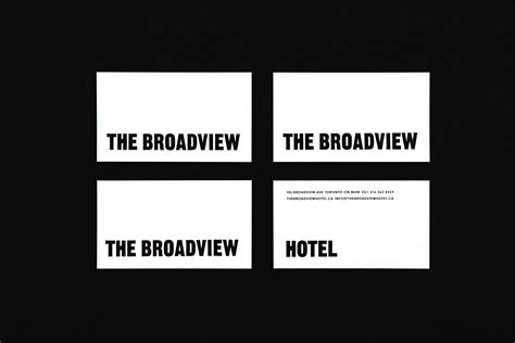 New Brand Identity For The Broadview Hotel By Blok Business Credit Card Requirements Llc Scanner App Iphone Free Normal Stock Rules For Layout How To Make A Stand Out Of Paper Aim Global Sample Standard Size Adobe Illustrator Visiting Icai