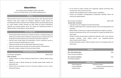 Office Coordinator Resume by Office Coordinator Resume Resume