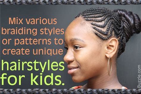6 Jaunty African-american Braided Hairstyles For Kids