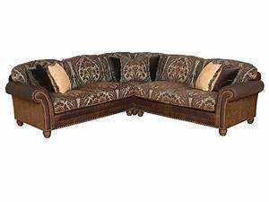 King hickory living room katherine right arm facing sofa for Sectional sofa hickory chair