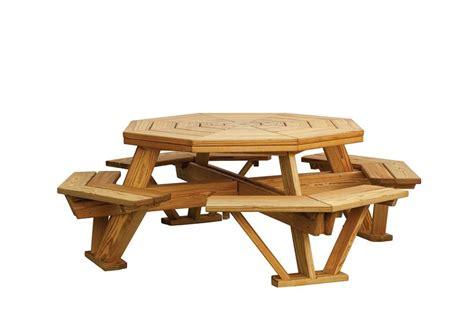 octagon picnic table plans  plans diy