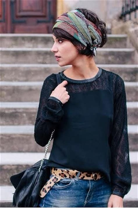 gorgeous scarf hairstyle ideas    haircuts