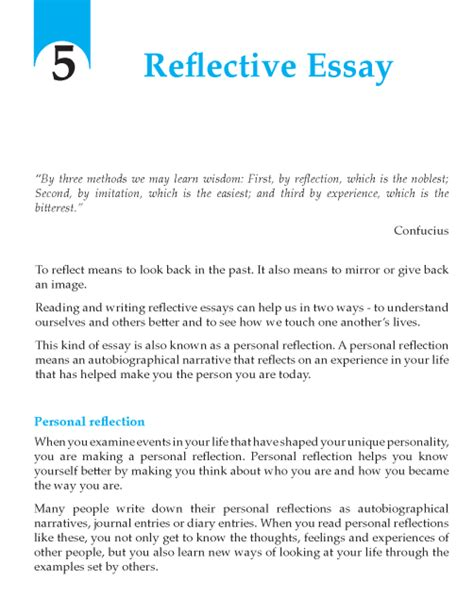 Essay About High School  High School Admissions Essay also Proposal Essay Examples Writing Skills Reflective Essay On English Class Short Essays For High School Students