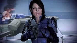 Mass Effect 3 Ashley Williams Death Scene - YouTube