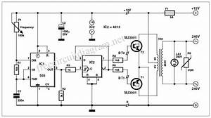 need 12 v dc to 240v ac 500w inverter circuit With dc ups circuit