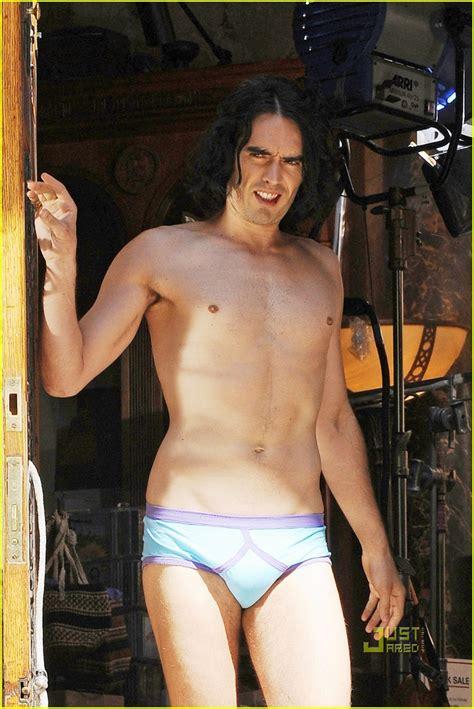 russell brand  underwear model hot   photo