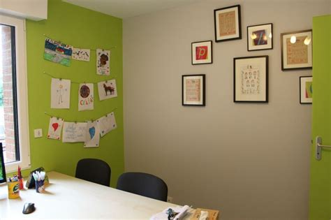 bureau vert anis déco bureau vert anis