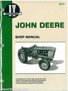 John Deere 1010 2010 Tractor Workshop Service Manual   Jd