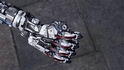 Mechanised Arm Robot Hand Sniper Concept Mech