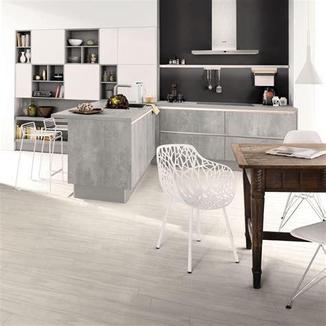 Material Und Stilmix In Der Küche Beton Trifft Auf Holz