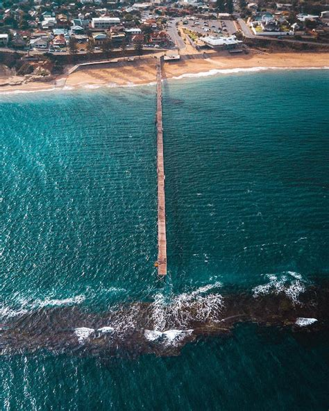 Aerial View of South Australia Presented in Drone ...