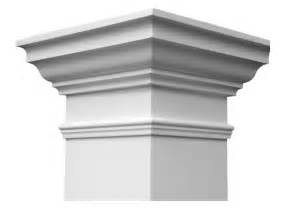 colonial home designs column caps and bases